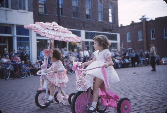 vintage Old Settlers parade