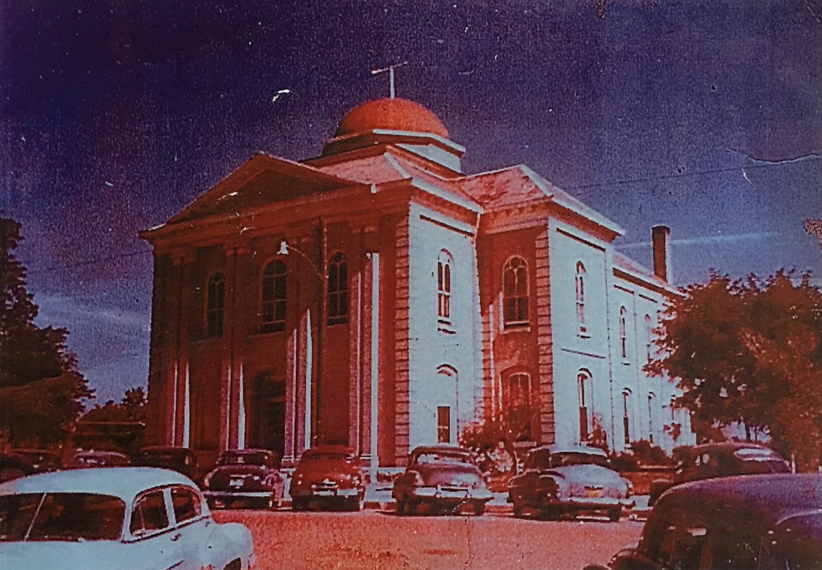 vintage courthouse
